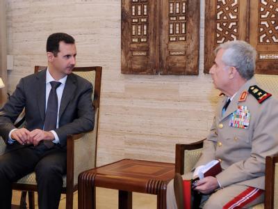 Assad und sein Generalstabschef