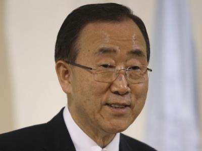 UN-Generalsekretär Ban Ki Moon. Foto: Andrej Cukic