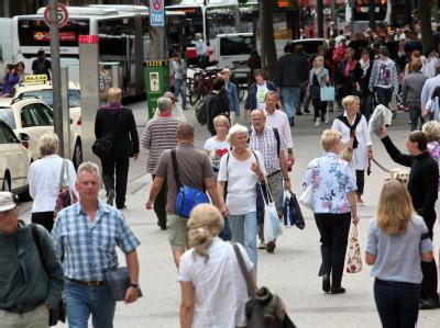In Deutschland leben rund 81,8 Millionen Menschen. Foto: Bodo Marks