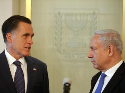 Romney und Netanyahu