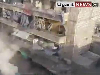K�mpfe in Aleppo