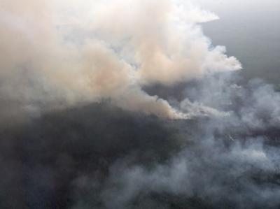 Br�nde in Sibirien