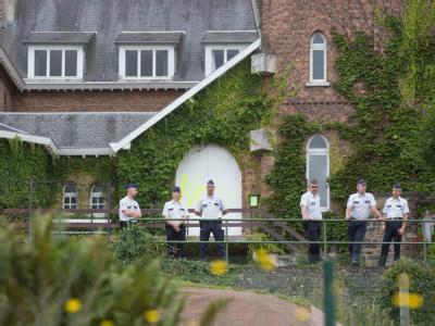 In diesem Kloster in Malonne soll die Ex-Frau des Mörders Marc Dutroux nach ihrer Haftentlassung untergebracht werden. Foto: Julien Warnand