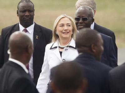 US-Außenministerin Clinton in Kenia