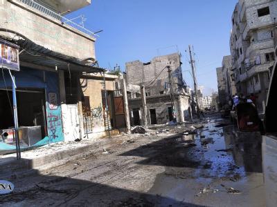 Zerst�rungen in Syrien