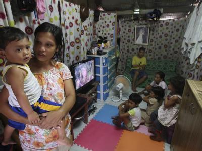 Geburtenrate im Manila