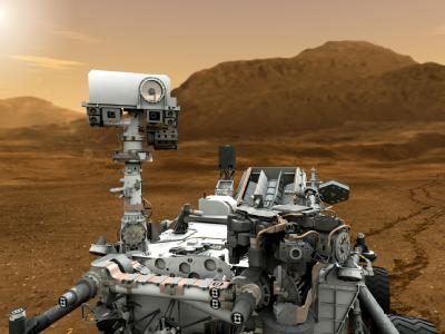 Ausrüstung von «Curiosity»