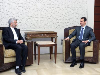 Iranischer Politiker in Syrien