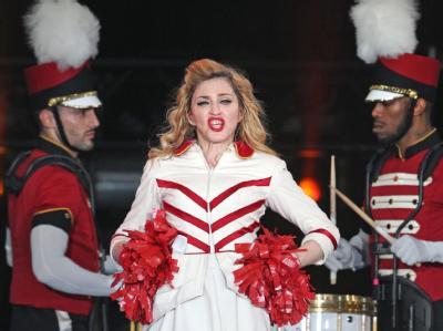 Madonna in Moskau