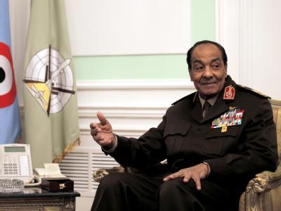 Zwanzig Jahre lang hatte Mohammed Hussein Tantawi unter Präsident Husni Mubarak gedient. Foto: Amel Pain/ Archiv+
