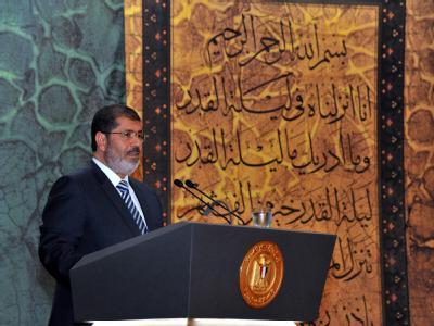 Ägyptens Präsident Mursi