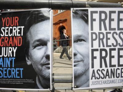 Pro-Assange-Plakate