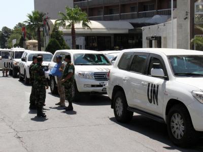 Die UN-Beobachtermission in Syrien wird nicht verlängert. Das hat der UN-Sicherheitsrat in New York beschlossen. Foto: Str