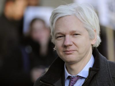 Ecuador gewährt Wikileaks-Gründer Assange Asyl. Foto: Archiv/Facundo Arrizabalag