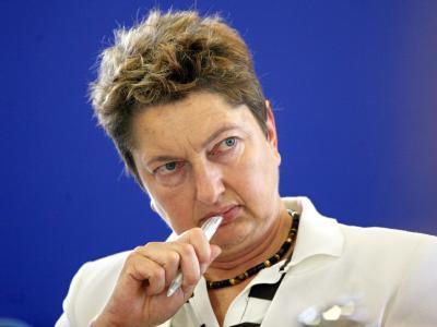 DGB-Vorstandsmitglied Annelie Buntenbach sieht «die Gefahr politischer Willkür bei der Gestaltung des Beitragssatzes». Foto: Hannibal