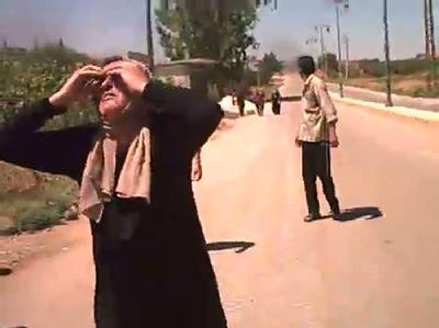 Syrische Zivilisten