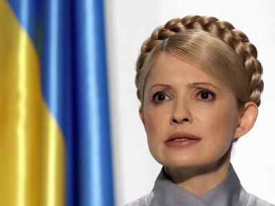 Die frühere Regierungschefin Timoschenko verbüßt seit Oktober 2011 eine international umstrittene siebenjährige Gefängnisstrafe. Foto: Sergey Dolzhenko