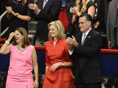 Mitt Romney und seine Frau Ann