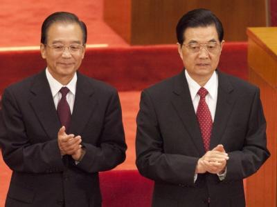 Hu Jintao und Wen Jiabao