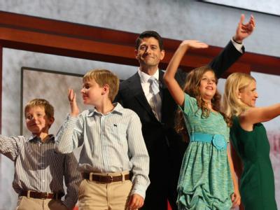 Der Kandidat der Republikaner für das Amt des Vizepräsidenten, Paul Ryan, versprach, in den nächsten vier Jahren zwölf Millionen Jobs zu schaffen. Foto: Jim Lo Scalzo