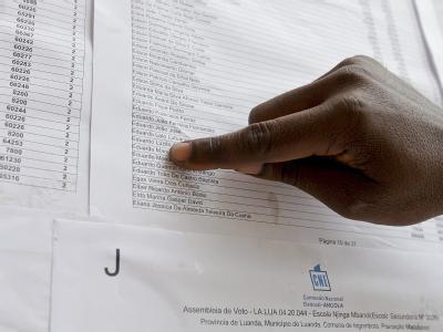 Kandidatenliste: Laut Wahlgesetz wird automatisch der Vorsitzende der Partei mit den meisten Stimmen Staats- und Regierungschef in einer Person. Foto: Paulo Novais