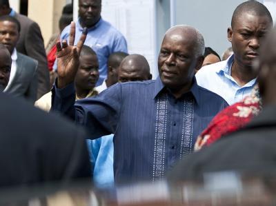Die Partei des langjährigen Präsidenten José Eduardo dos Santos hat erneut die Wahlen im südwestafrikanischen Angola gewonnen. Foto: Paulo Novais