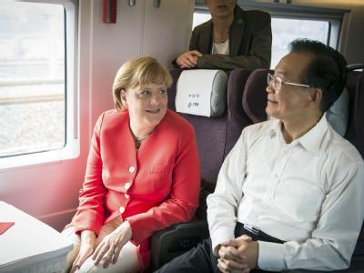 China-Reise Merkel