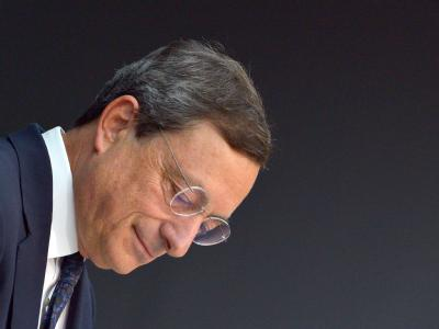 Mario Draghi, Präsident der Europäischen Zentralbank (EZB),  hat sich zu einer erklärenden Rede vor dem Deutschen Bundestag bereiterklärt. Foto: Boris Roessler/Archiv