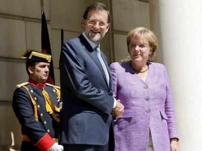 Rajoy und Merkel