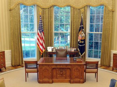 Oval Office im Wei�en Haus