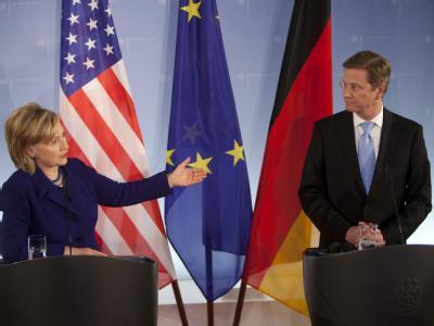 Westerwelle und Clinton