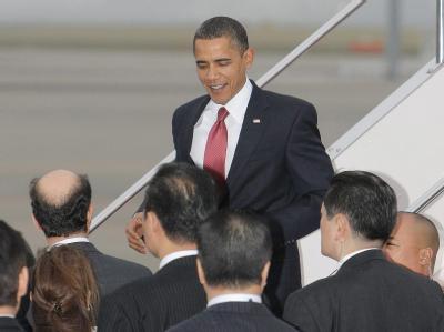 Obama-Ankunft in Tokio