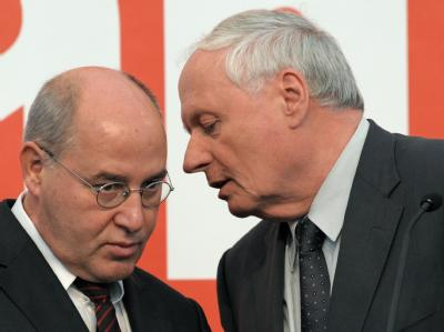 Das Führungsduo der Linken: Gregor Gysi und Oskar Lafontaine.