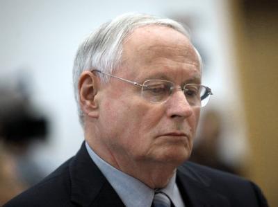 Der Vorsitzende der Partei Die Linke, Oskar Lafontaine, am Mittwoch im Landtag in Saarbrücken.
