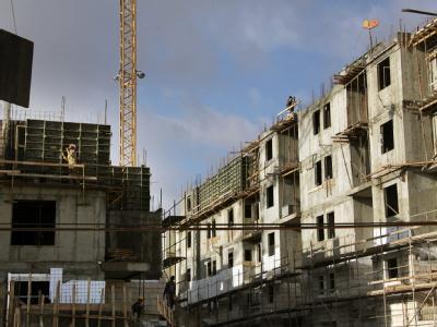 Neubauten in Jerusalem
