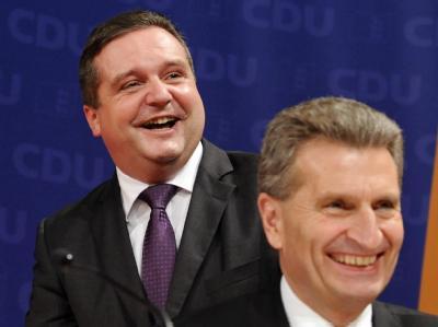 Mappus und Oettinger