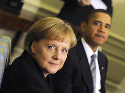 Hauptakteure in Kopenhagen, auch wenn sie nur zeitweise an den Verhandlungen teilnehmen: US-Präsident Barack Obama und Bundeskanzlerin Angela Merkel.