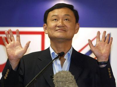 Auf dem Höhepunkt seiner Macht: Thaksin Shinawatra im Februar 2005.