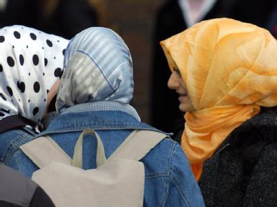 Muslimische Mädchen