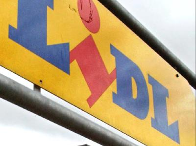 Lidl-Firmenschild