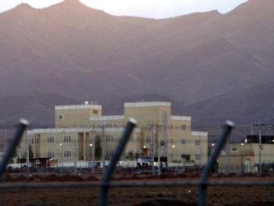 Hinter Stacheldraht: Nukleare Anreicherungsanlage im iranischen Natans.