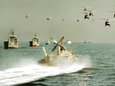 Iranische Kriegsschiffe