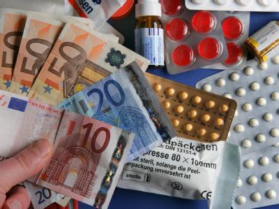 Geldscheine und Arzneimittel