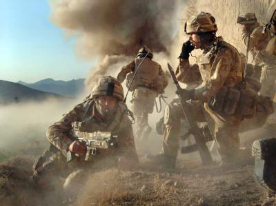 Kampfeinsatz in Afghanistan