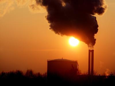 Ursache des Klimawandels - CO2-Ausstoß