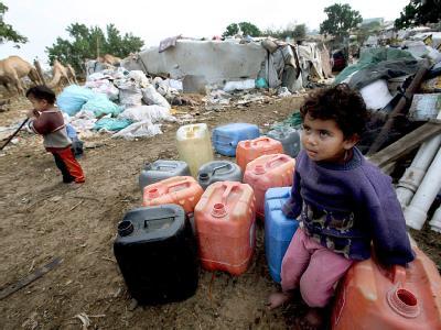 Armut im Gazastreifen
