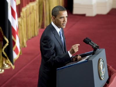 Mit Spannung erwartet: Barack Obama hält in Kairo seine