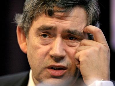 Premierminister Gordon Brown. Sein Wirtschaftsminister hält ihn für eine «physisch und psychisch befangene Person». (Archivbild)