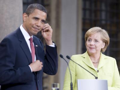 Differenzen zwischen Washington und Berlin? Obama: «Wilde Spekulationen, ... ja genau das sind sie»