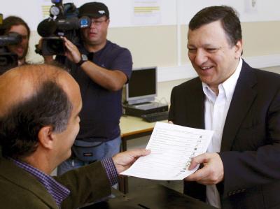 Barroso stimmt ab